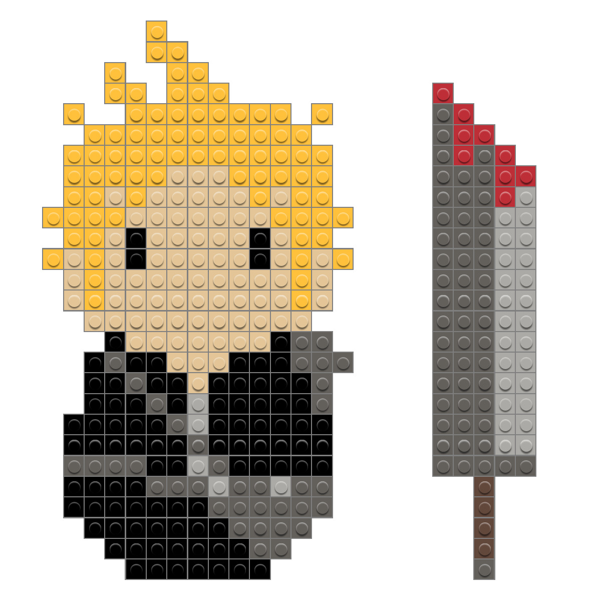 Final Fantasy Cloud Pixel Art – BRIK