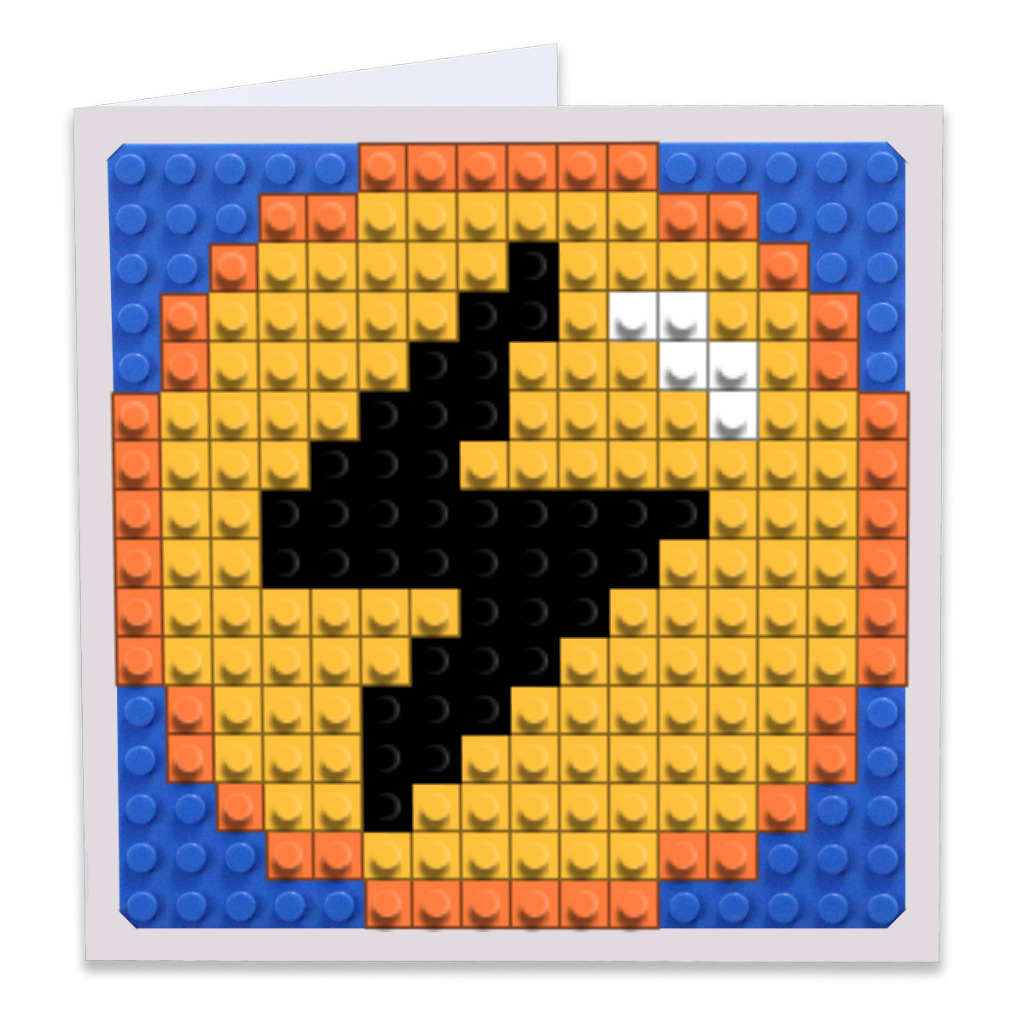 Lightning Energy Pixel Art Build-On Gree...