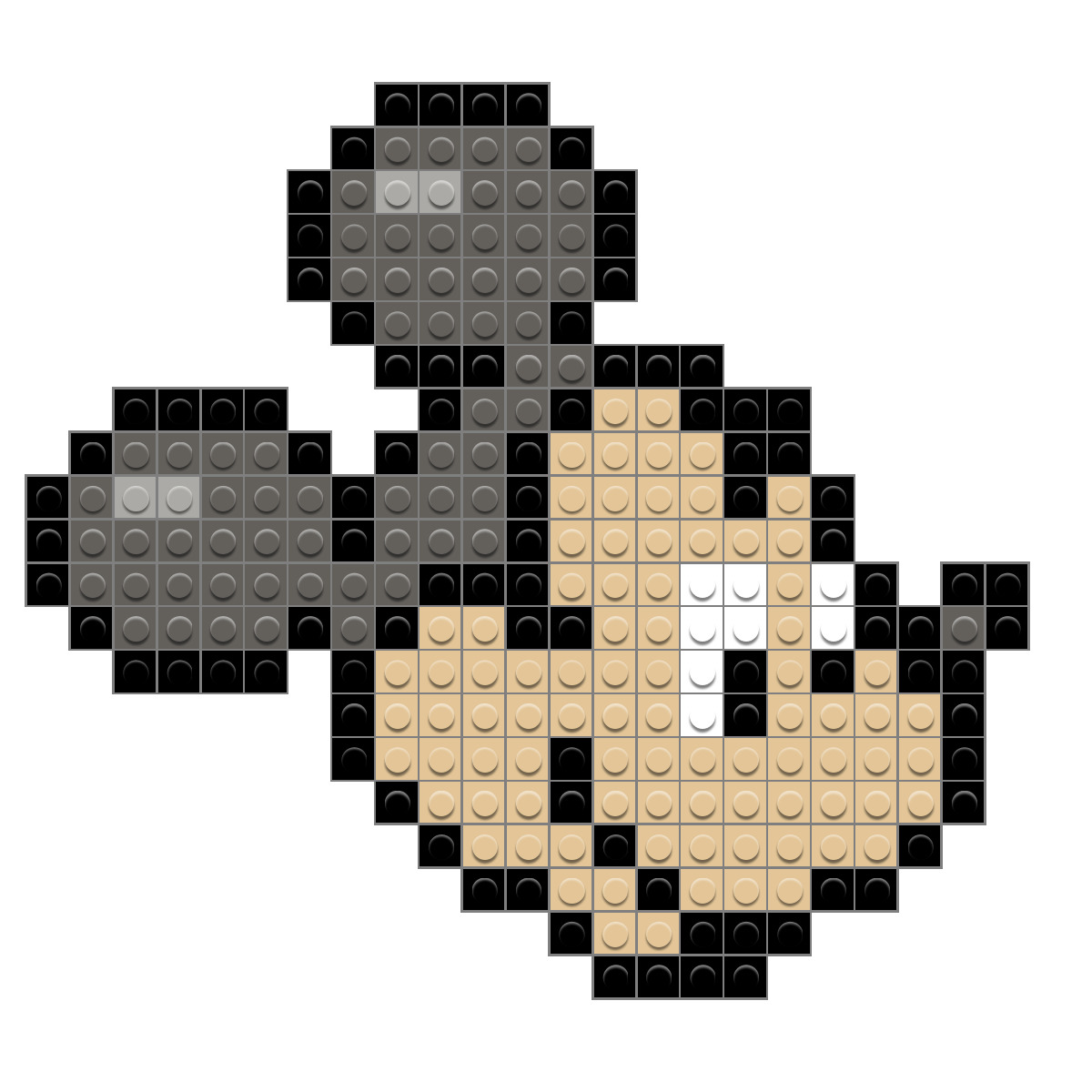 Mickey Mouse Pixel Art pixel mickey mouse – brik