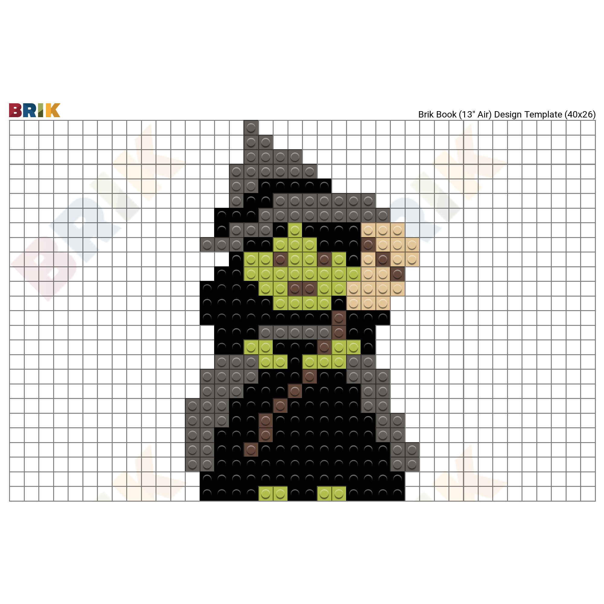 The Wicked Witch of the West Pixel Art – BRIK